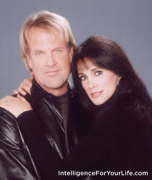 John Tesh and Connie Sellecca