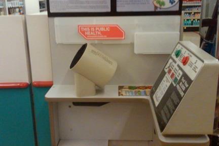 blood pressure machine reading